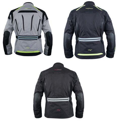 Motorcycle Textile Jacket Motorbike Armor CE Touring Waterproof