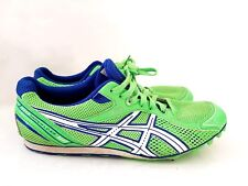28f2cbeb7059 Asics Hyper LD spikes Green running Shoes athletics UK 7.5 Neon Long  distance