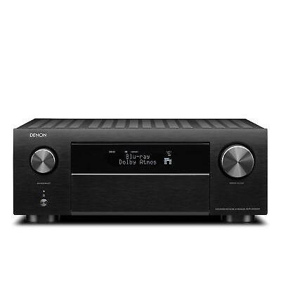 Denon AVR-X4500H 9.2-Kanal-Netzwerk-A/V-Receiver mit HEOS 200 Watt, Schwarz