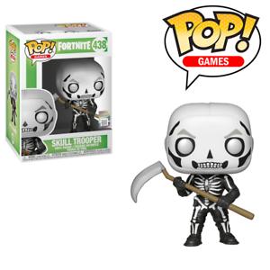 image is loading fortnite skull trooper pop vinyl figure skin royale - fortnite scythe png