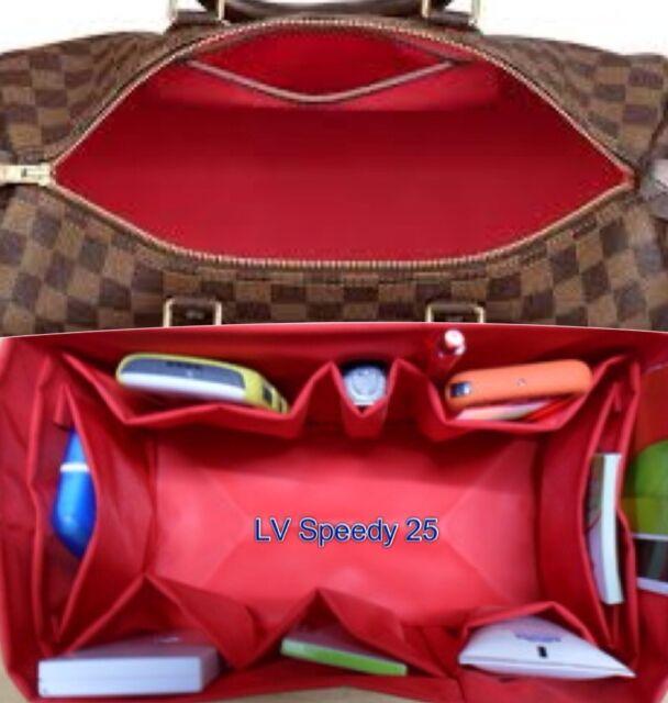 685579e5c44e Bag Organizer Shaper Internal for LV SPEEDY 25 TOTALLY MM Hamstead PM in RED