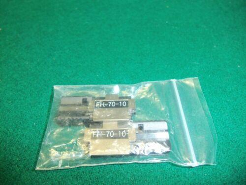 Fujikura AFL S017118 FH-70-10 Pair of 10-Fiber Ribbon Holders for 70R+