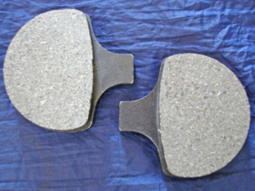 FRONT BRAKE PADS FOR HARLEY FLT XL DYNA  AND POLISHED ROTORS  84-99