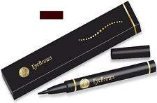 Henna Eyebrow Pen Dark BROWN Color Semi Permanent