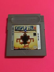 WORKING-NINTENDO-GAMEBOY-GAME-CARTRIDGE-RARE-CHOPLIFTER-2
