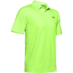 Under-Armour-Golf-2019-Performance-2-0-Textured-Polo-Shirt-Lime-Light