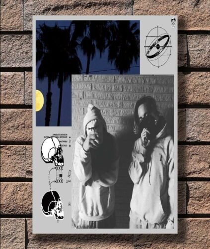 ZA767 $Uicideboy$ Rap Hip Hop Music Custom Star Poster Hot 40x27 36x24 18inch