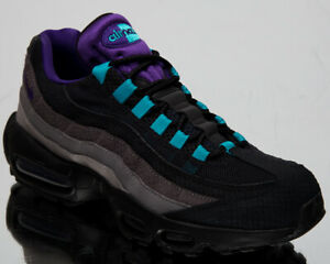 Details about Nike Air Max 95 LV8 Grape Black Mens Casual Lifestyle Sneakers Shoes AO2450 002