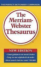 The Merriam-Webster Thesaurus (2006, Paperback, Revised)