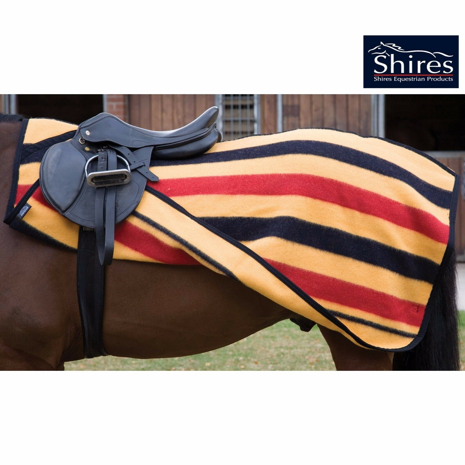 Shires Newmarket Exercise Sheet In Sizes 4'3 and 4'6