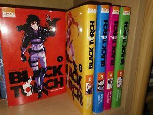 BLACK TORCH tomes 1 à 5 Tsuyoshi Takaki COMPLET manga shonen en français série