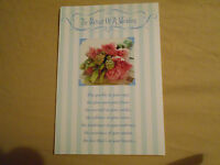 Lot Of 4 Day Spring The Portrait Of A Wedding Cards