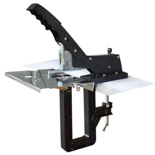 Heavy Duty Manual Saddle Stapler Stitcher Professional Office Tool Supply