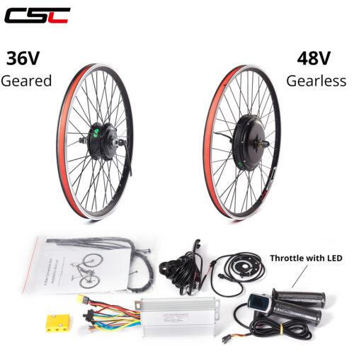 20 24 26 inch Electric Bike Kit 48V 500W Electric Bicycle Motor Kit