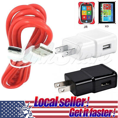 """TX LOCAL Cable+Charger for Fuhu Nabi DreamTab DMTab Touch Screen HD 8/"""" Tablet"""