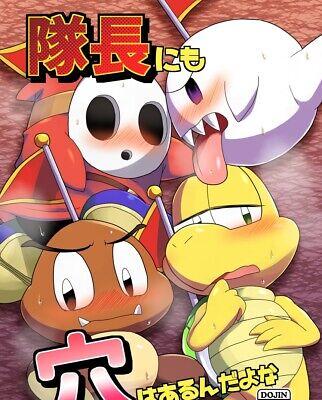 Mario Furry Kemono Doujinshi Goomba Koopa Troopa Boo Etc B5