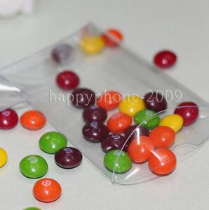 50pcs-Clear-Pillow-Shaped-Plastic-PVC-Boxes-Wedding-Party-Favors