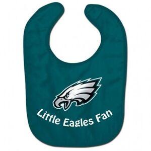 c7cd6666 Details about Philadelphia Eagles Wincraft NFL All Pro Little Eagles Fan  Baby Bib FREE