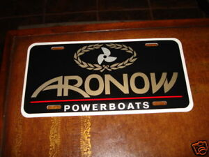 ARONOW-POWERBOATS-LICENSE-PLATE