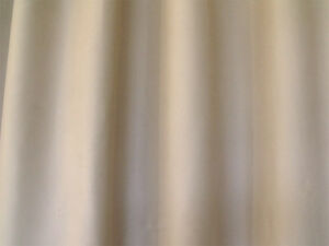 Blockout-Curtain-267cm-x-230cm-PINCH-PLEAT-1-panel-with-15-Hooks-Sand-col-New