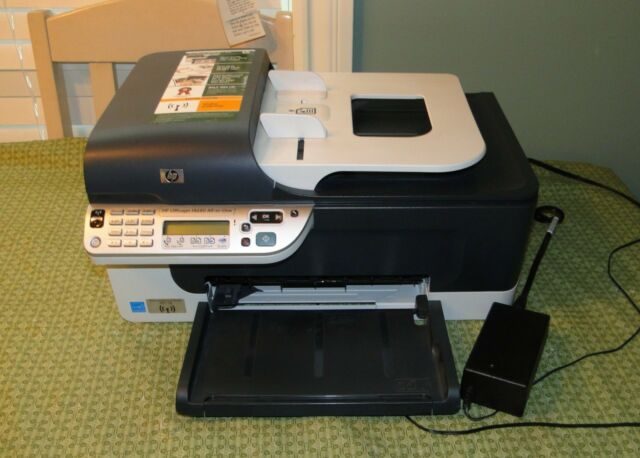 hp officejet j4680 all in one inkjet printer ebay rh ebay com hp j4680c manual HP All in One Desktop Manuals