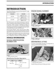 2014 ski doo rev xs xm series 600 ho 800r snowmobile service rh ebay com ski doo service manuals free ski doo service manual 2015