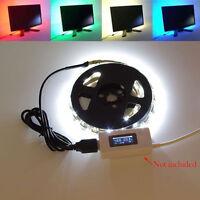 Usb 3528 Tv Background Computer Waterproof Led Strip Light 5v For Power Bank Car