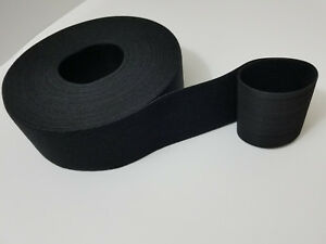 """VELCRO® Brand Reusable ONE-WRAP® Strap Dbl Sided 3"""" x12ft. (4yards) Black"""