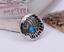 10PC-30MM-SOUTHWEST-INDIAN-HEAD-TURQUOISE-SLIVER-SCREW-BACK-LEATHERCRAFT-CONCHOS miniature 4