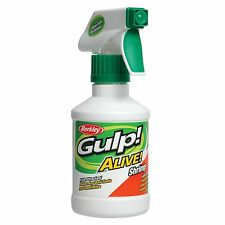 New! Berkley Gulp! Alive! Spray Attractant Shrimp Crevette 8 oz Bottle 1130450