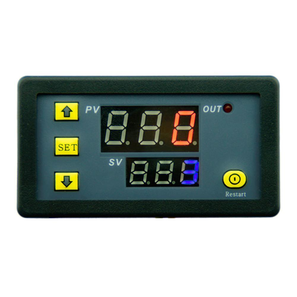 Timing Delay Relay Module AC110-220V 20A Cycle Timer LED Digital Display on