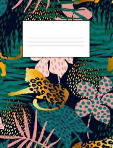 Tropical Leaves And Jaguar School Supplies Composition Notebook 7 4 By 9 7 9781722931377 Ebay Image provided by getty images. ebay