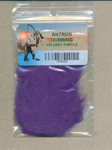 Antron Dubbing Bag deep purple 1 gram