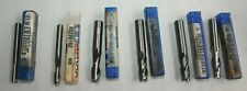 Lot Of Assorted Atrax Solid Carbide Sem End Mills Lot Of 6
