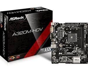 Egp215671 AsRock A320m-hdv Scheda Madre Socket Am4 chipset A320 Micro-atx