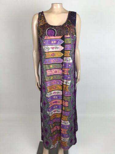 Vintage 70's Women's Dress Vassarette Hollywood Po
