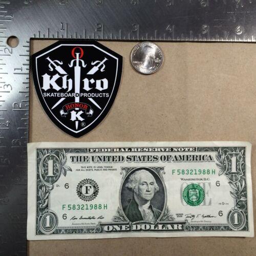 Khiro Skateboard Products Stickers Medium Honor K