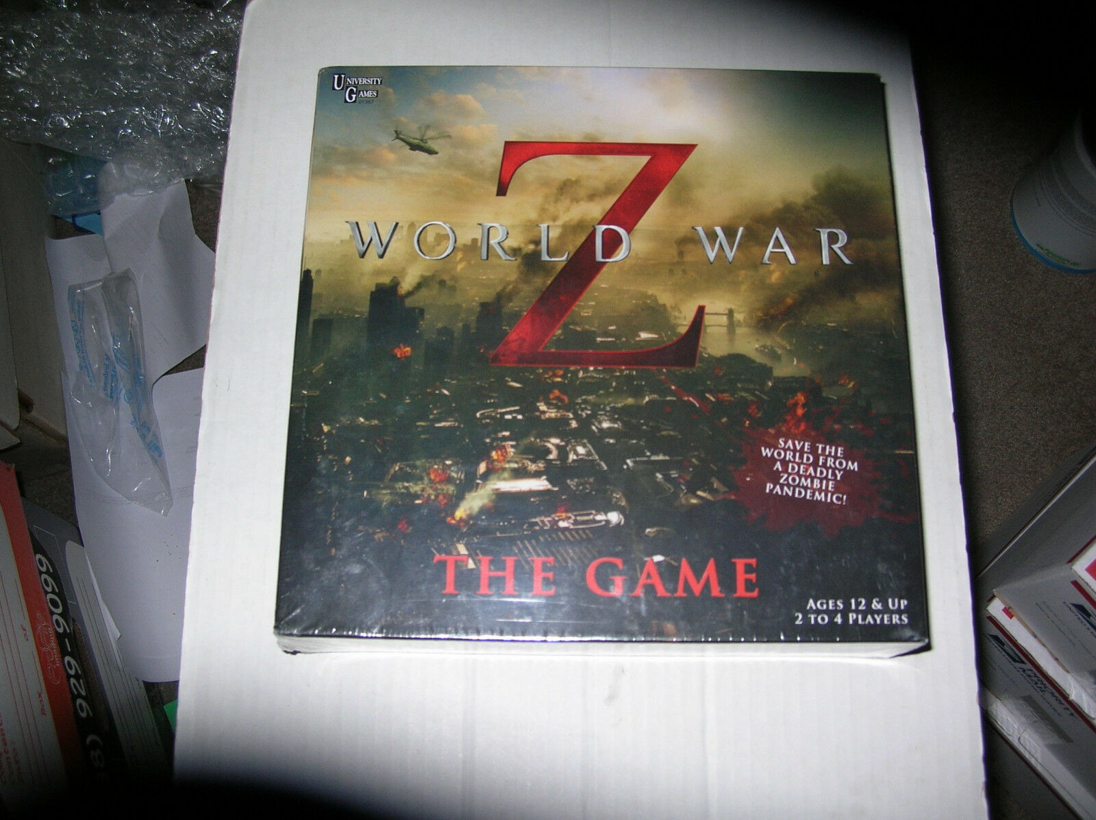 World War Z The Game NEW Board Game