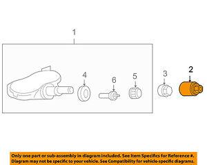 Details about HONDA OEM TPMS Tire Pressure Monitor-Sensor Nut 42754SHJA71