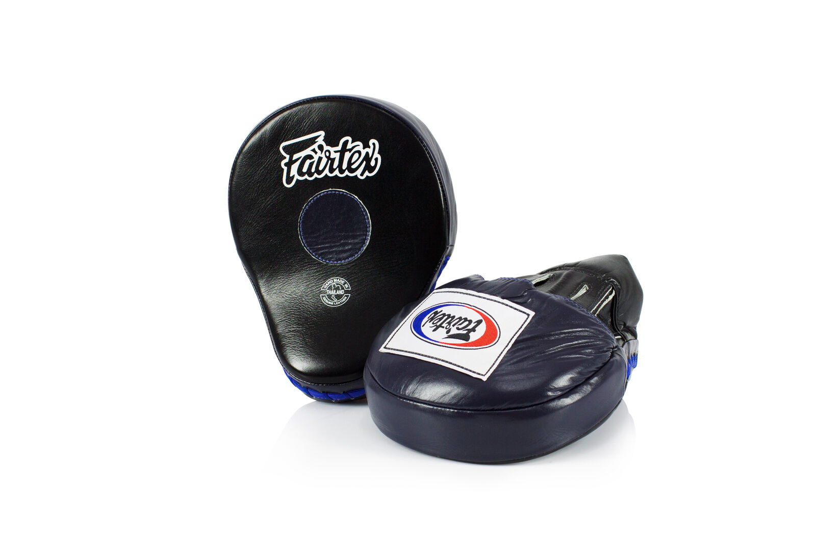 Fairtex THE ULTIMATE BOX mano Guantoni imbottiti in Pelle Trainer Guantoni imbottiti arti marziali ACCESSORI