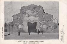 C2850) BOLOGNA, GRAN FESTIVAL 1903, PIAZZALE 8 AGOSTO. AUTOGRAFO DI TOPI ULISSE.
