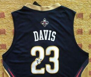 Details About Anthony Davis Signed Autograph New Orleans Nola Pelicans Jersey Nba Kentucky