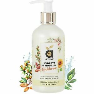 Anveya Hydrate & Nourish Conditioner for Dry Damaged Frizzy Hair 250ml