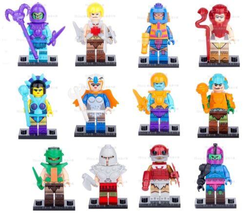 2018 SET OF 16 HE-MAN SKELETOR ETC.Figures MINI Blocks Toys LEGOS USA SELLER NIP