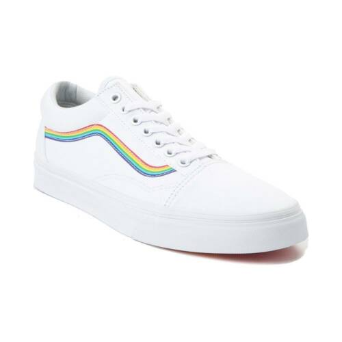 Skool Old Skate Hommes Blanches Vans Neuf Pride Rainbow Chaussures OFqx5E5Ifw