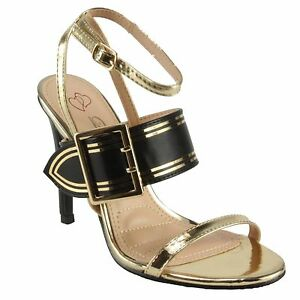 b1a093768d4b DbDk Women s Katte-8 Ankle Strap Sling-back High Heel Dress Sandals ...
