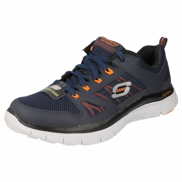 Skechers Flex Advantage 51251 Navy Orange Herren