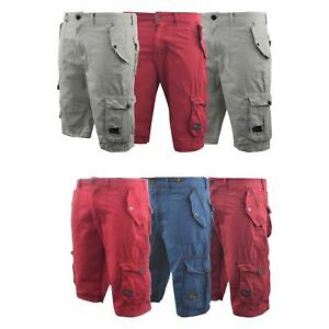 f5d93be4fb Image is loading Mens-Crosshatch-Chinos-Cargo-Shorts-Jeans-Combat-3-