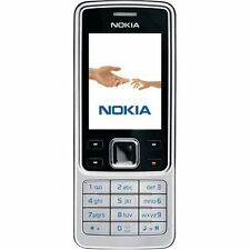 Brand New Nokia 6300 Silver Unlocked  Mobile Phone
