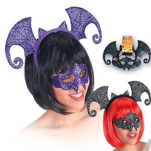 Caricamento dell immagine in corso Maschera-per-HALLOWEEN-e-cerchietto-per -capelli-con- 168fb5ad8675
